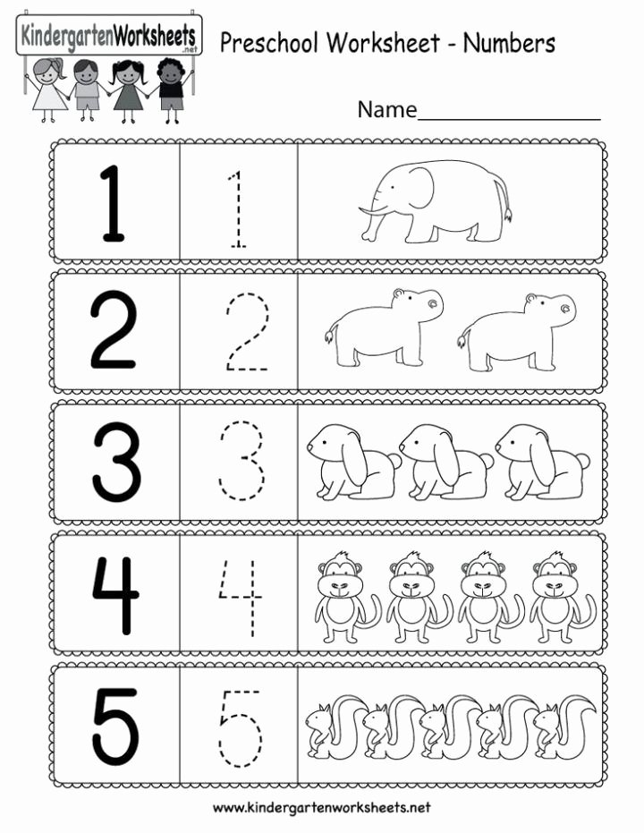 Worksheets for Preschoolers About Numbers top This is A Preschool Numbers Worksheet Kids Can Learn How T