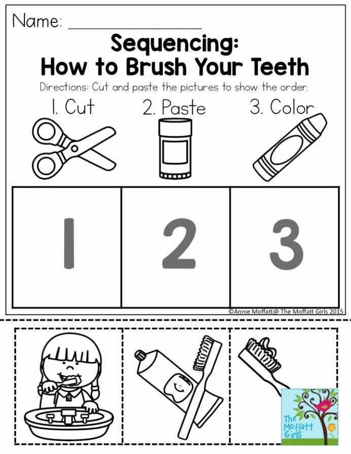 Worksheets for Preschoolers About Teeth Ideas January Learning Resources with No Prep Dental Health