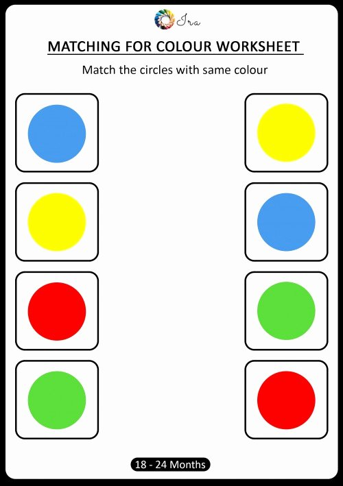 Worksheets for Preschoolers Colors Free Coloring Pages Free Downloadable Matching Colors