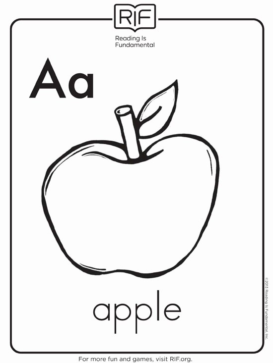Worksheets for Preschoolers Colouring Free Free Alphabet Coloring Pages