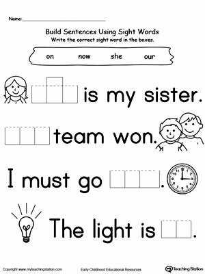 Worksheets for Preschoolers English Free Preschool and Kindergarten Worksheets