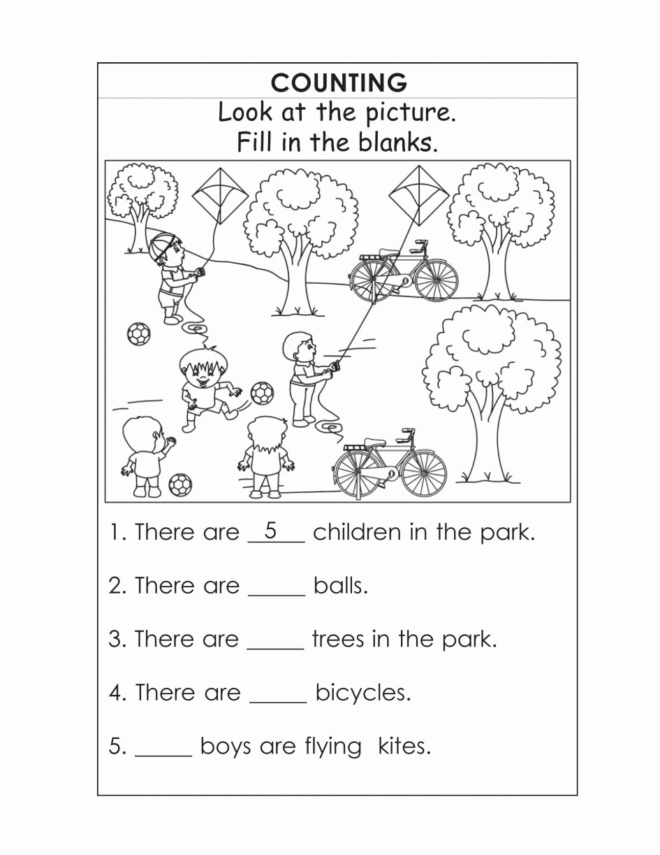 Worksheets for Preschoolers English Lovely In at Time Worksheets English Grammar Worksheets 2nd