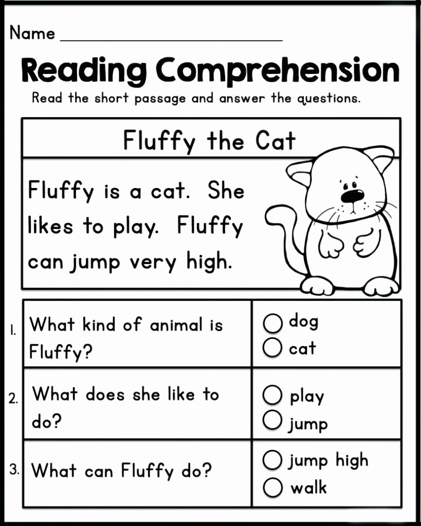Worksheets for Preschoolers English top Math Worksheet Reading Prehension Kindergarten English