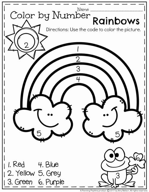 Worksheets for Preschoolers for Free Kids March Preschool Worksheets Planning Playtime