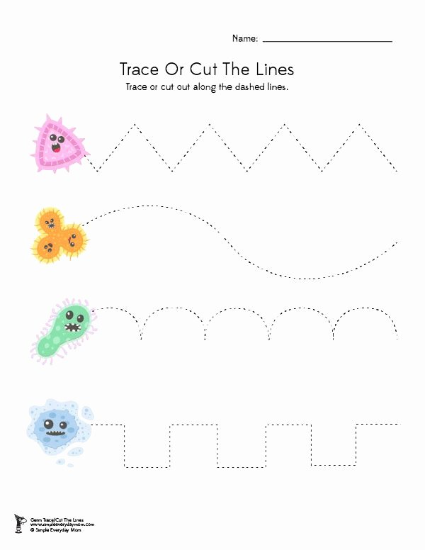 Worksheets for Preschoolers for Free Lovely Free Printable Germ Worksheets for Kindergarten