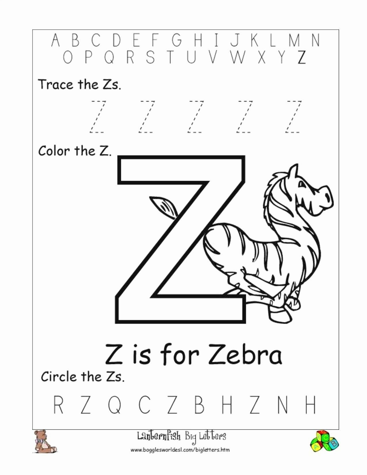 Worksheets for Preschoolers Letters top Worksheets Preschool Worksheet Alphabet to Free Tracing