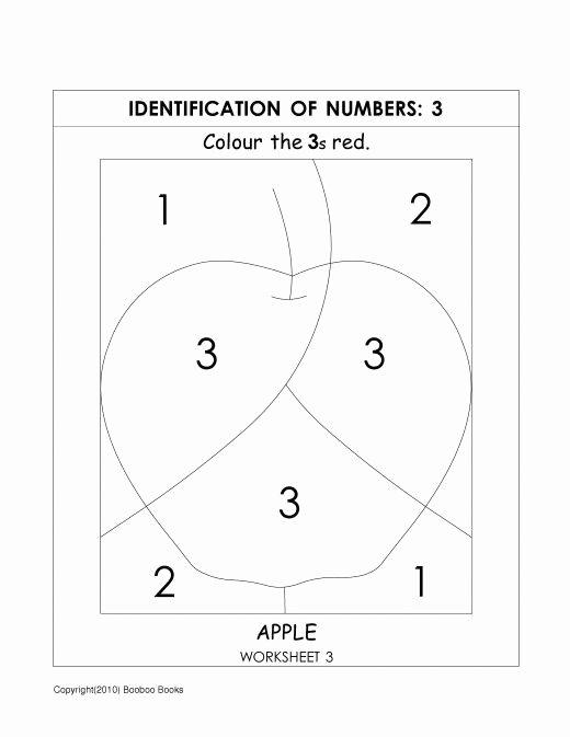 Worksheets for Preschoolers Number Recognition Free Number Recognition Worksheets & Activities