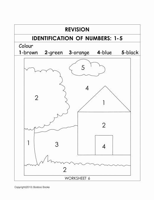 Worksheets for Preschoolers Number Recognition Inspirational Number Recognition Worksheets