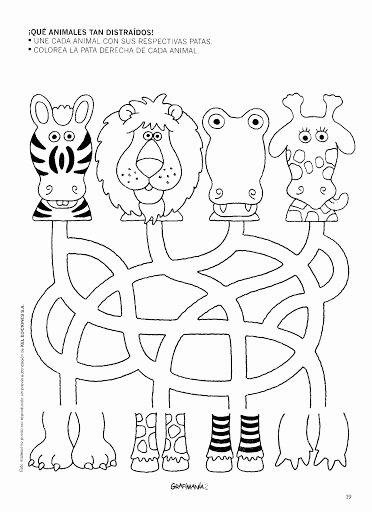 Worksheets for Preschoolers On Animals Lovely Free Printable Animal Worksheet for Kids