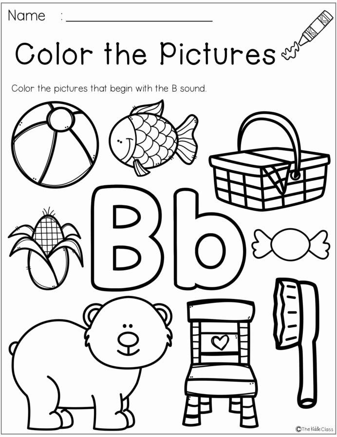 Worksheets for Preschoolers On Letters New Free Letter the Week Worksheets Preschool Letters
