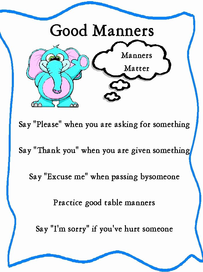 Worksheets for Preschoolers On Manners Printable Worksheets for Kindergarten Good Manners In 2020
