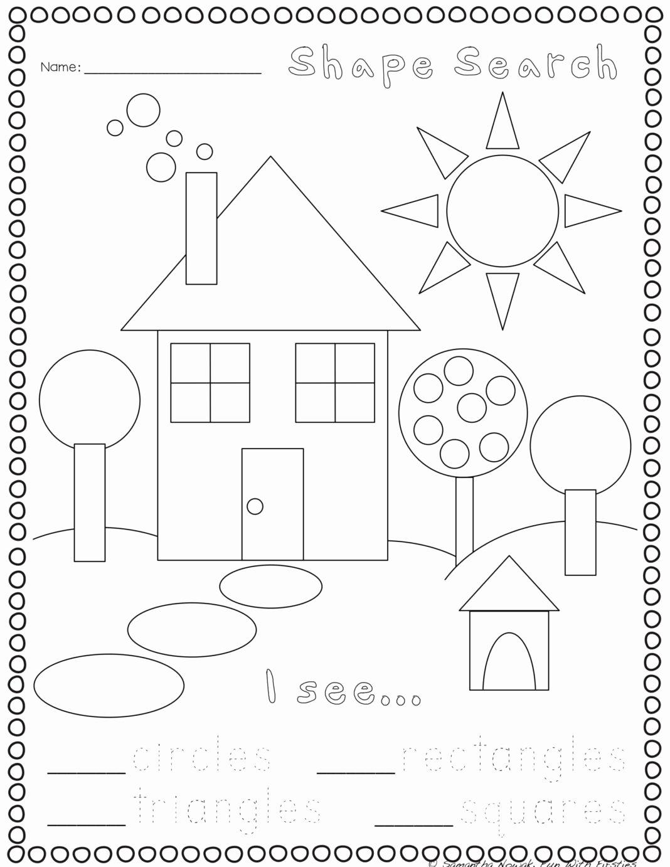 Worksheets for Preschoolers On Shapes Fresh Worksheets Print Go Geometry Practice Worksheets Preschool