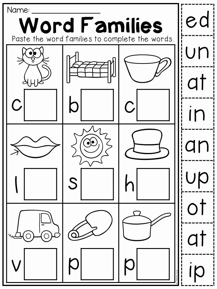 Worksheets for Preschoolers Pinterest Best Of Kindergarten Cvc Worksheet Packet Distance Learning