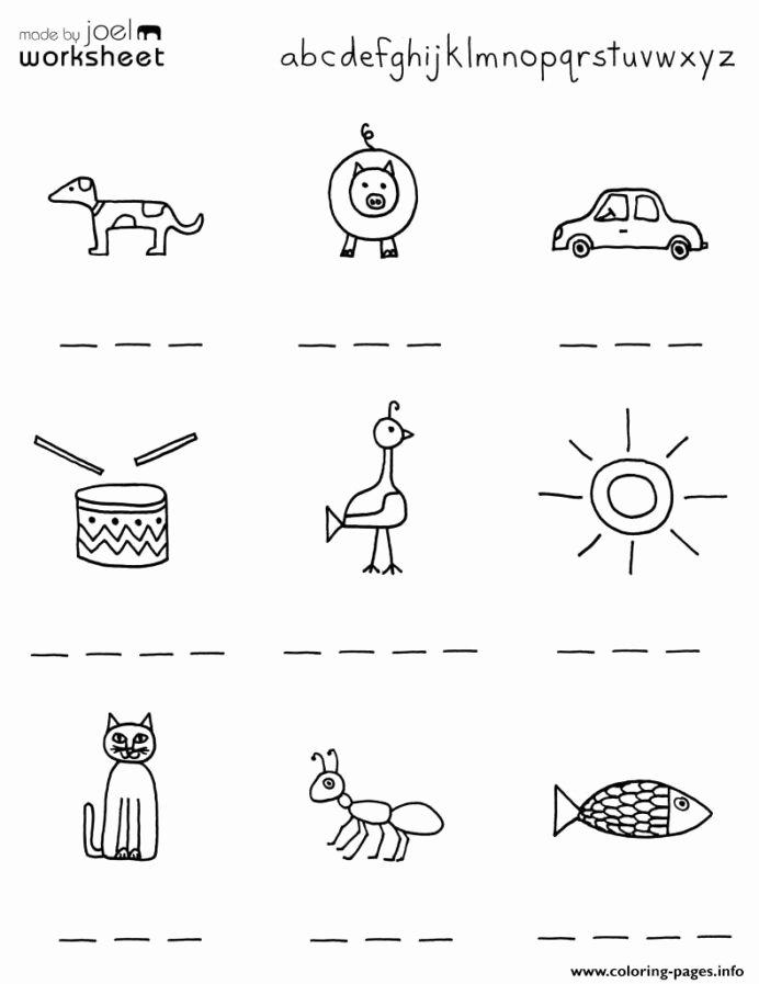 Worksheets for Preschoolers Printable New Kindergarten Worksheets Preschool Printables for Kids