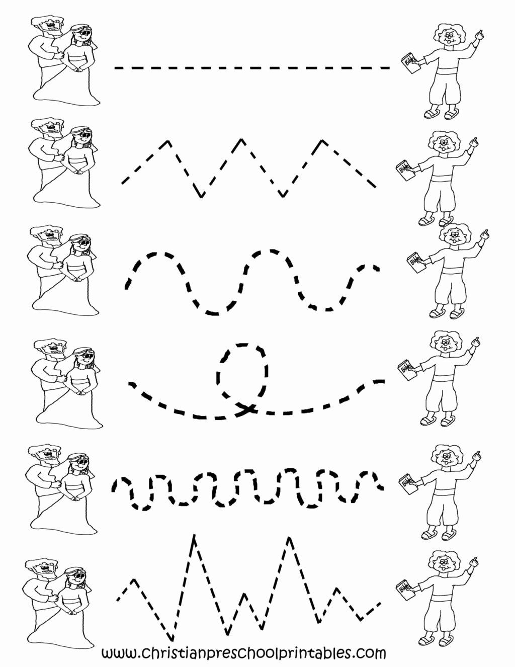 Worksheets for Preschoolers Tracing Best Of Worksheet Preschool Tracing Worksheets Cakepins