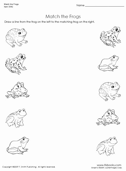 Worksheets for Preschoolers Uk Lovely Free Matching Objects Worksheets for Preschoolers