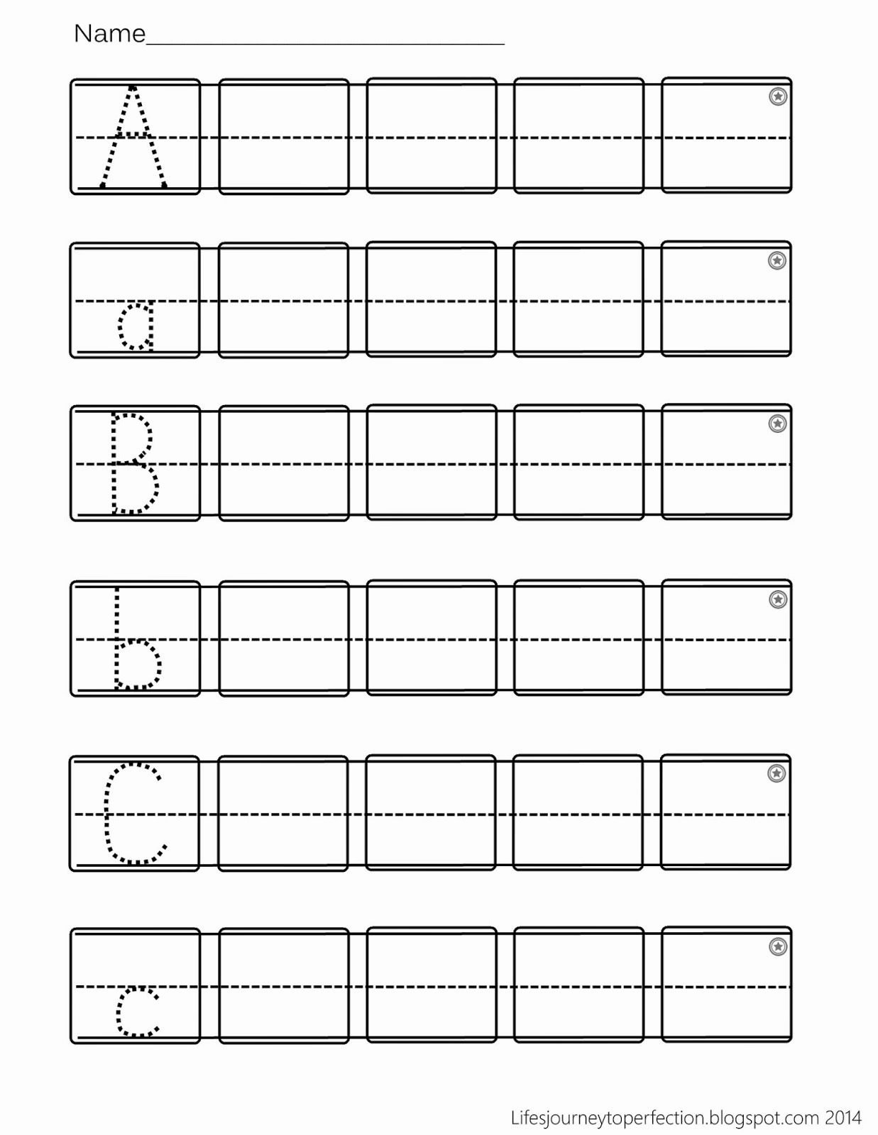 Writing Abc Worksheets for Preschoolers Ideas Preschool Practice Abc Writing Worksheet Printables