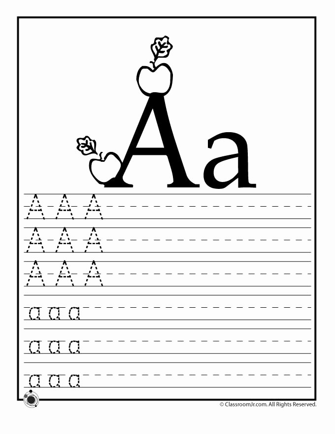Writing Abc Worksheets for Preschoolers Lovely Learning Abc S Worksheets