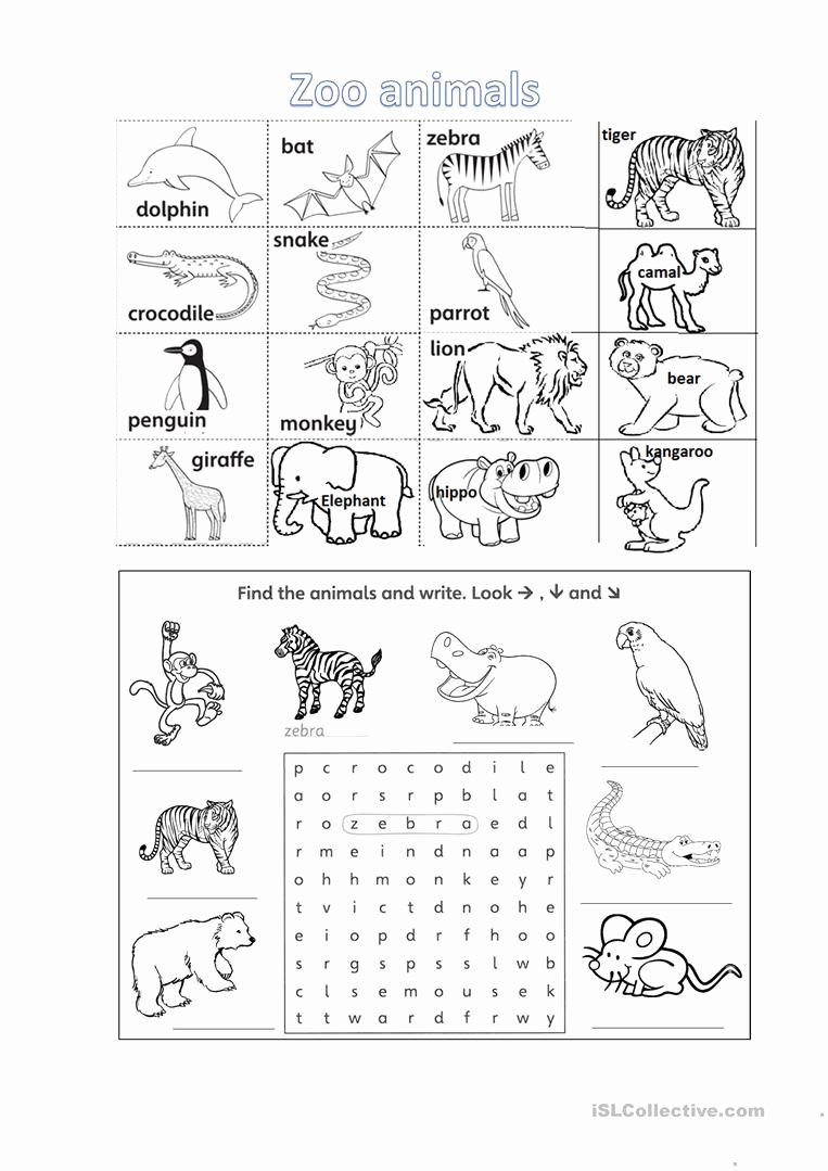 zoo animals worksheet with listening tasks fun activities games 1