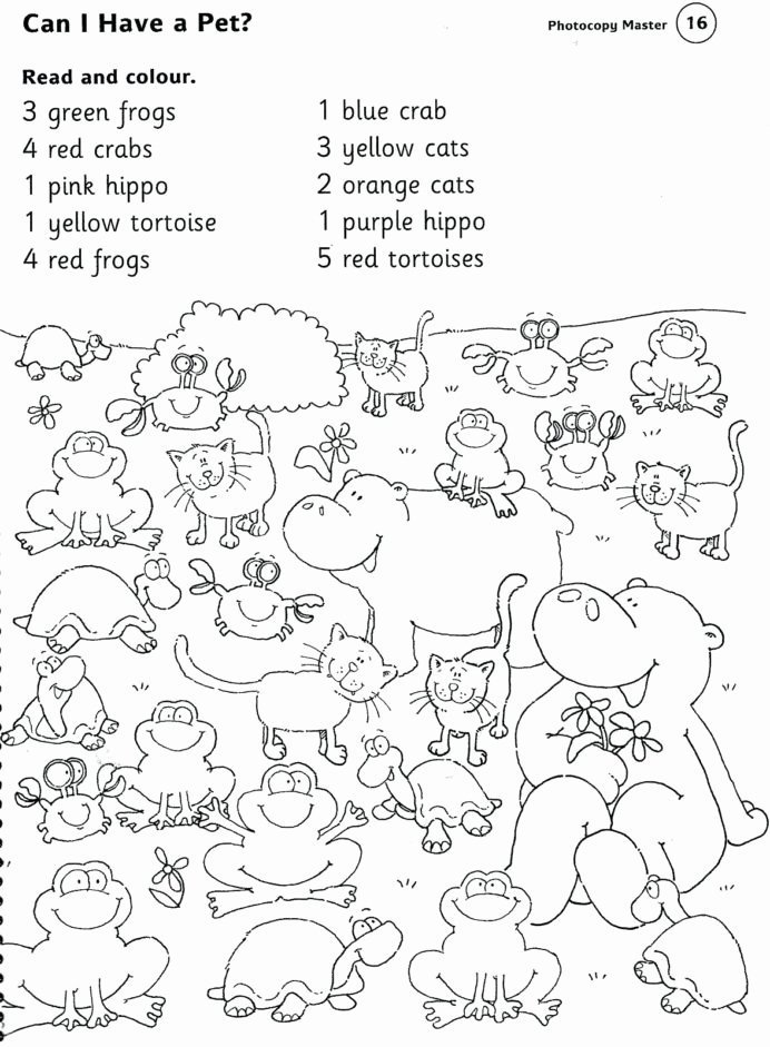 Zoo Math Worksheets for Preschoolers Lovely Animal Printable Worksheets Pet Farm and Zoo Animals