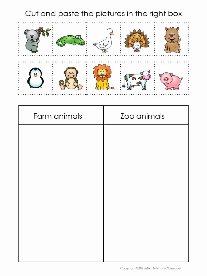 Zoo themed Worksheets for Preschoolers Fresh 2017 10 Bondeg¥rdsdyr Eller Zoologisk Have Dyr