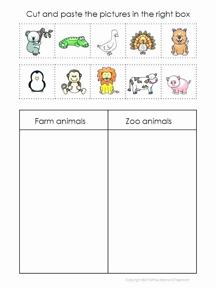 Zoo Worksheets for Preschoolers Fresh Zoo Worksheets Kindergarten – Keepyourheadup