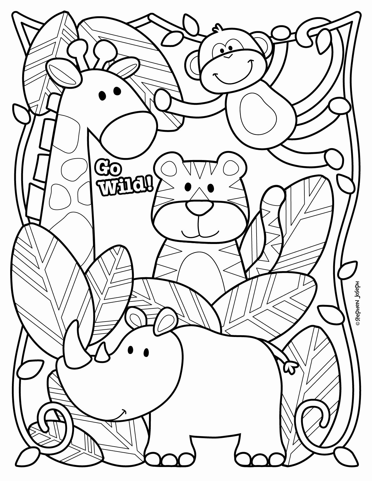Zoo Worksheets for Preschoolers Lovely Coloring Best Printable Zoo Animal with forolers Baby