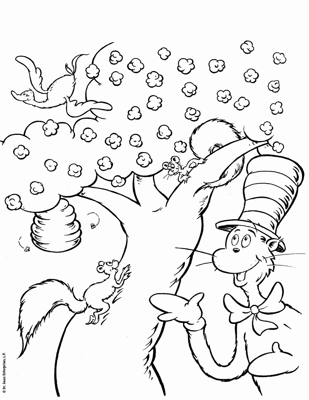 Cat In the Hat Worksheets for Preschoolers Ideas Cat In the Hat Coloring Pages – Coloringcks