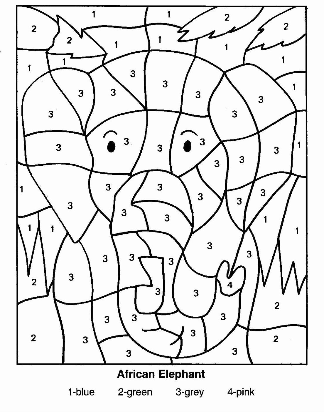 Free Color by Number Worksheets for Preschoolers Best Of Worksheet Coloring Pages Thanksgiving Color by Number Free