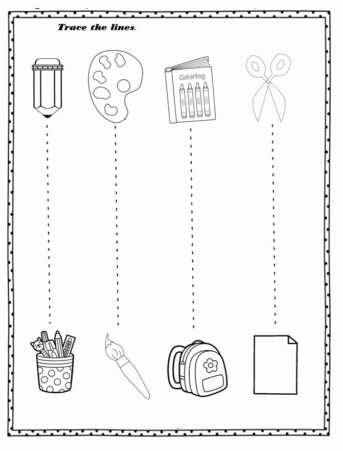 Free Printable Back to School Worksheets for Preschoolers top Free Printable Back to School Worksheet for Preschoolers