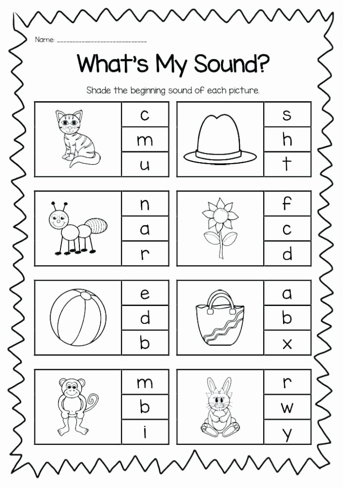 Free Printable Beginning sounds Worksheets for Preschoolers Best Of Free Printable Vowel Digraph Worksheets Kindergarten Phonics