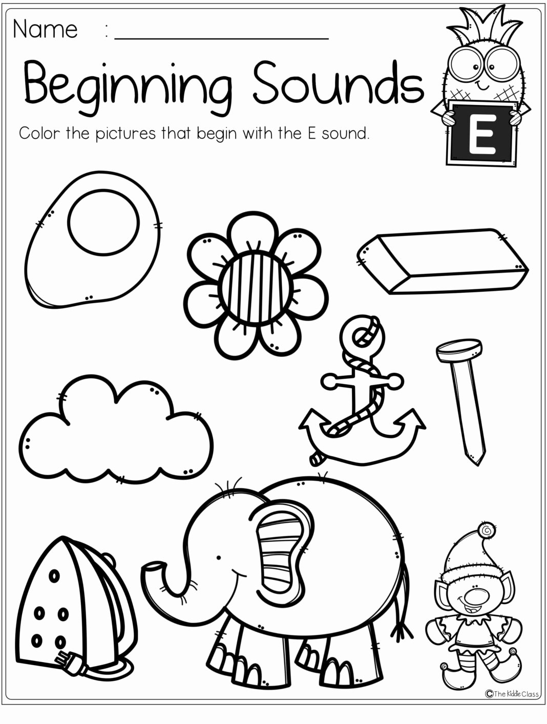 Free Printable Beginning sounds Worksheets for Preschoolers Inspirational Worksheets Alphabet Beginning sounds Printables Preschool