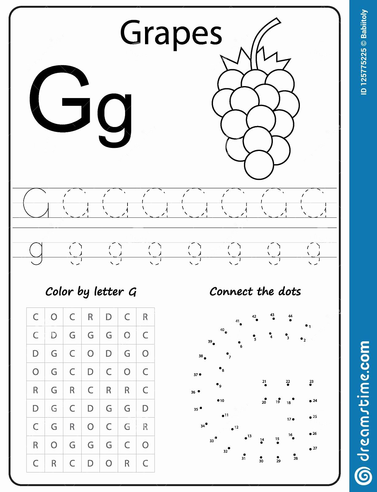 Free Printable Letter G Worksheets for Preschoolers Fresh Coloring Pages Free Printable Activity Pages for Kids Art