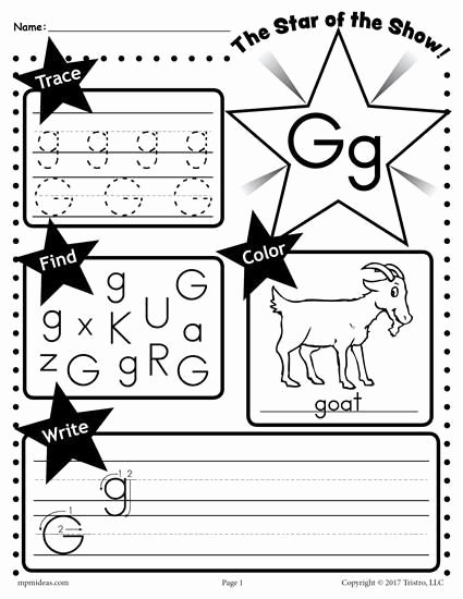 Free Printable Letter G Worksheets for Preschoolers Ideas Worksheet Letter G Worksheet Tracing Coloring Writing More