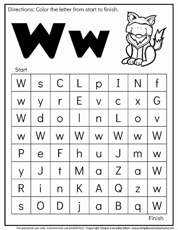 Free Printable Letter Recognition Worksheets for Preschoolers Ideas Free Animal Alphabet Worksheets for Preschool & Kindergarten