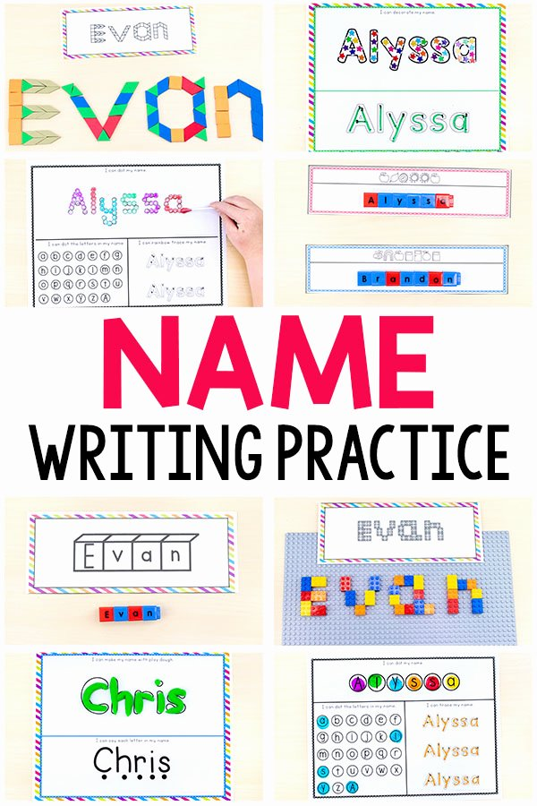 Printable Worksheets for Preschoolers to Write their Name Free Free Editable Name Tracing Printable Worksheets for Name