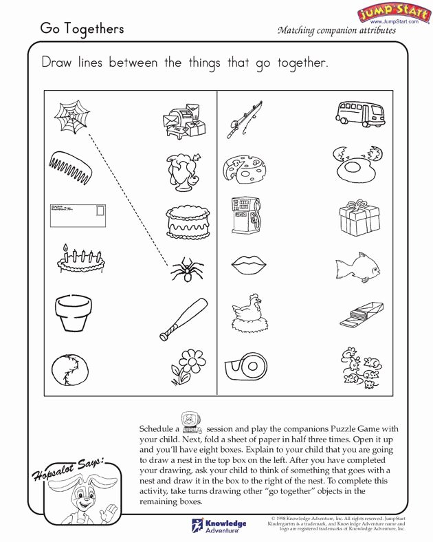 Things that Go together Worksheets for Preschoolers Best Of Go to Hers View – Logical Reasoning Worksheets for