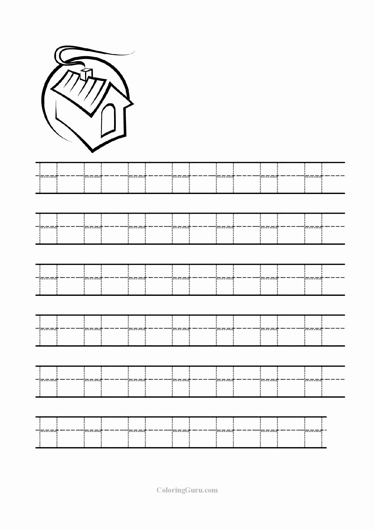 Tracing the Letter H Worksheets for Preschoolers New Free Printable Tracing Letter H Worksheets for Preschool