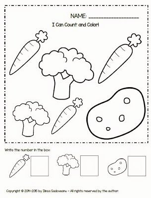 Worksheets for Preschoolers On Fruits and Vegetables Free Fruit and Ve Ables Worksheets Freebie