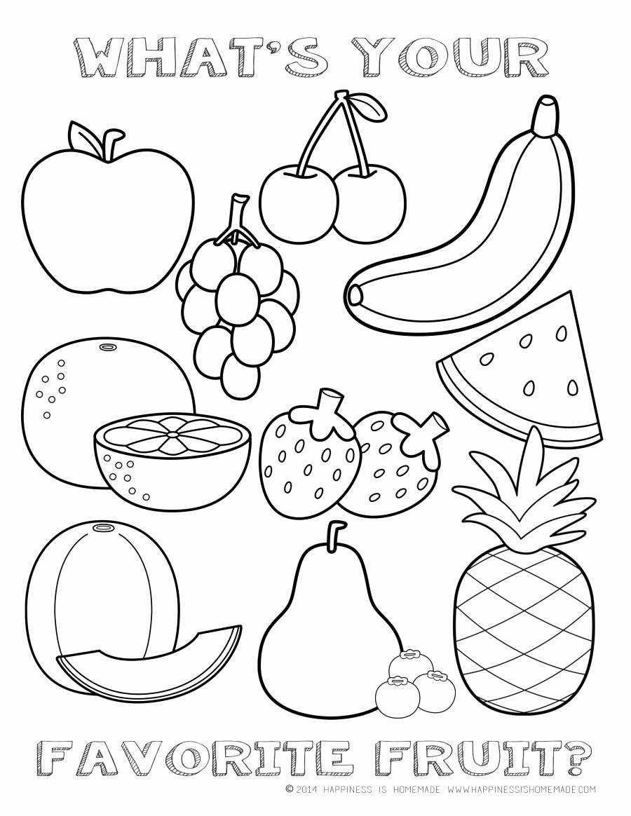 Worksheets for Preschoolers On Fruits and Vegetables New Printableng Fruits and Ve Ables Worksheets for Middle